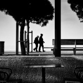 promenade - photo by darko ivancevic