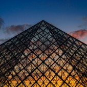 pyramidal sunset - photo by darko ivancevic