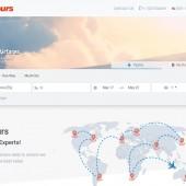 e-commerce travel site